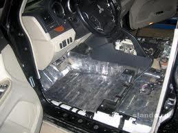 Звукоизоляция салона автомобиля.