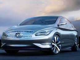 «Infiniti LE» - авангардный электромобиль 2014 года!