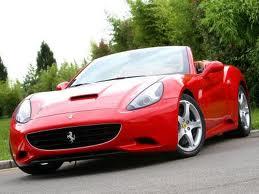 Новая модель суперкаров «Ferrari California»