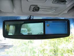 Зеркало заднего вида с GPS навигацией