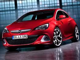 Новый  Opel  Astra OPC 2013