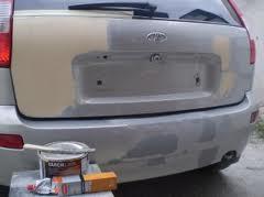 Шпаклевать автомобиль