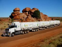 Автопоезда «Road train» - стальные динозавры австралийских пустынь