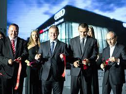 Открыт первый цифровой дилерский центр Audi