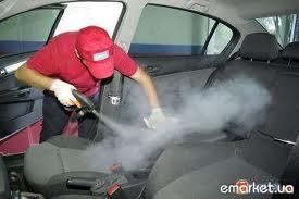 Уборка в автомобиле...