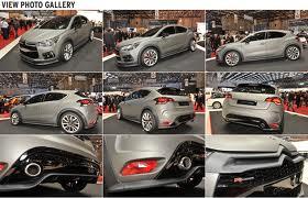 Citroen DS4 Racing - французский взгляд на мощность...