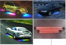 Новое направление в тюнинге авто – диодная подсветка днища...