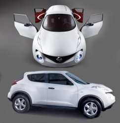 Обзор автомобиля Nissan Juke